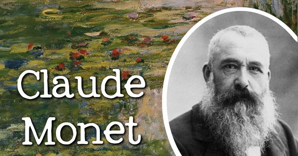 Biography of claude monet famous artists for children for Biographie claude monet