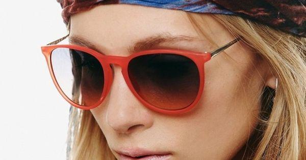 Red sunglasses scarf blowjob