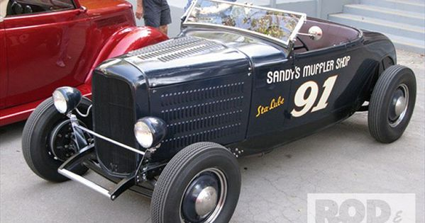 1930 Ford Model A Roadster Old School Style Dream