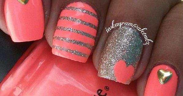 Nails Idea | Diy Nails | Nail Designs | Nail Art by InLovewithIt nails nail nails nailart unha unhas unhasdecoradas