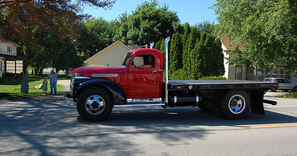 Old Chevy Cars >> 1941 Chevy Flatbed Truck 1946 chevy truck | Old Trucks | Pinterest | Chevy, Cars and Rigs