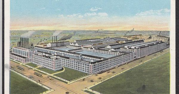 Detroit Mi Ford Motor Company Vintage Postcard Ebay