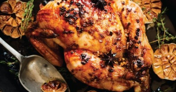 Orange Glazed Chicken in Sweet Paul Magazine - Fall 2012 - Page