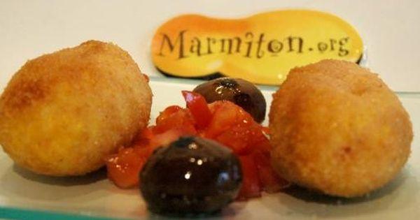 Arancini la sicilienne recipe tapas parfait and cuisine - Cuisine sicilienne arancini ...