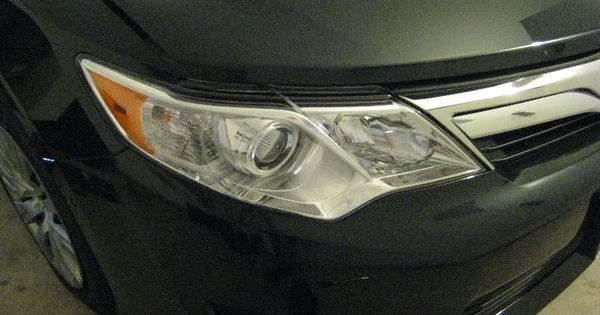 2013 Toyota Camry Headlight How To Change Low Beam High Beam Front Turn Signal Front Side Marker Bulbs Di Headlight Bulb Replacement Toyota Camry Camry
