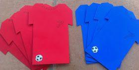 Diy Einladungskarten Zum Fussballgeburtstag