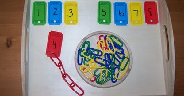 The Princess and the Tot: Tot School Counting and number recognition