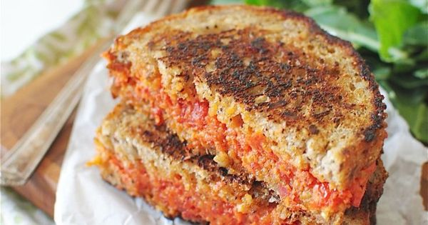 Sun-dried tomato and mascarpone grilled cheese sandwich | Market ...