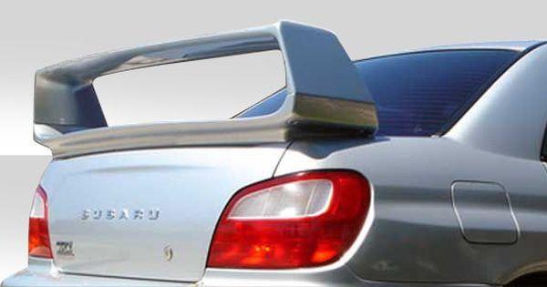 Duraflex 02 07 Subaru Impreza Wrx Sti 4dr Sti Spoilers Trunk Spoiler Subaru Impreza Wrx Sti Wrx