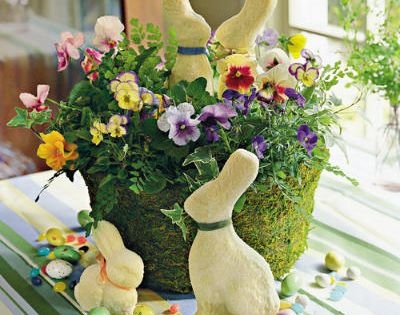 chair decoration spring table settings and centerpieces easter