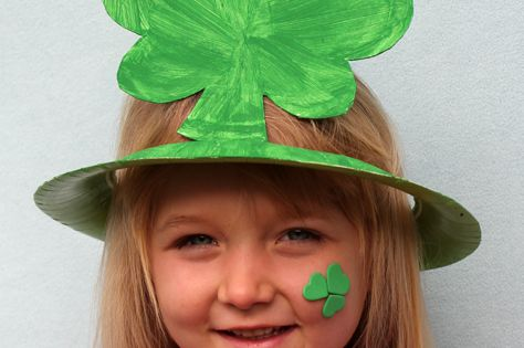 St Patricks Day Shamrock Hat decoration crafts st patricks day st patricks