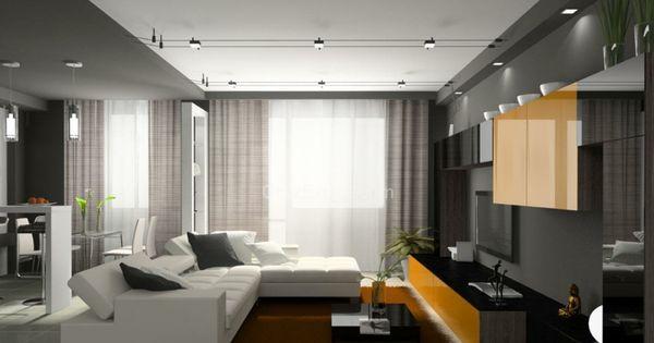 clairage led et types de luminaires dans le salon parfait led salons et d coration. Black Bedroom Furniture Sets. Home Design Ideas