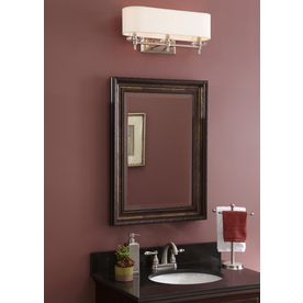 Allen Roth 22 25 In X 30 25 In Rectangle Surface Mirrored Medicine Cabinet Lowes Com Medicine Cabinet Mirror Medicine Cabinet Mirror