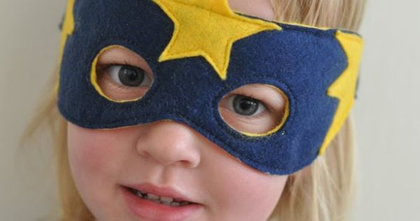 Mask kids superhero mask costume dressup