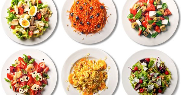 101 Simple Healthy Salads