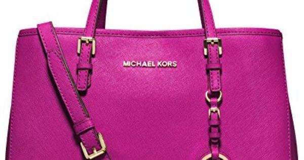 MICHAEL Michael Kors Jet Set Travel East West Tote in Deep Pink