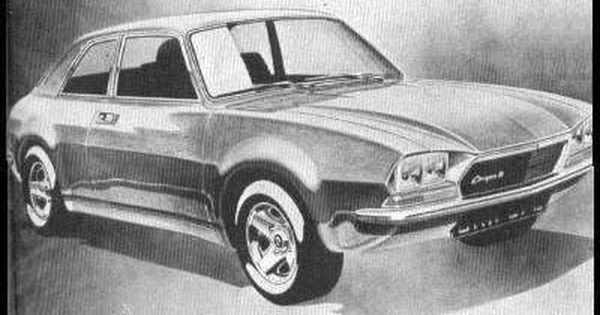 Og 1973 Austin Allegro Project Ado22 Paul Hugues Design Sketch Picture Autocar British Cars Bike Art Concept Cars