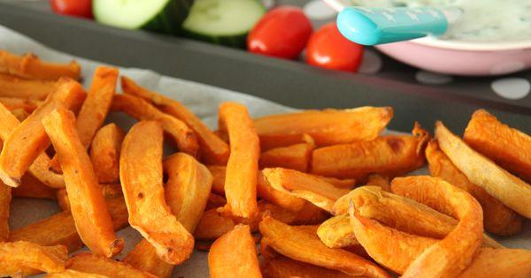 zoete aard frietjes | Potatoes & Co. | Pinterest
