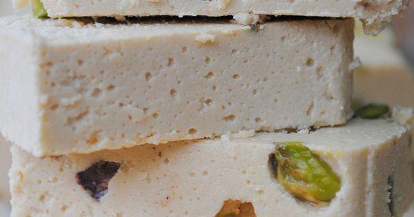 how to eat halva pistachio