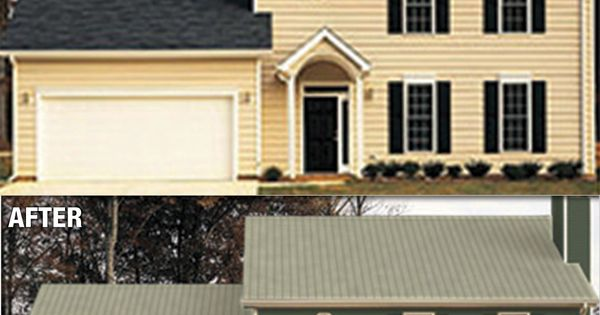 Visualize your home with new roofing and siding and make for Siding and roof color visualizer