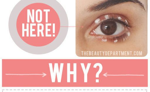 Puffy eyes are commonly a result of irritation. 1. If the product