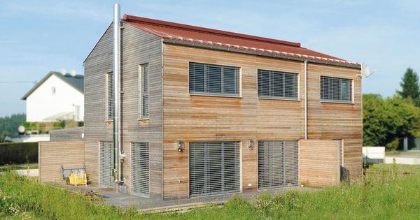 Haus in wolfern holzfassade holzhaus holzbau fassade