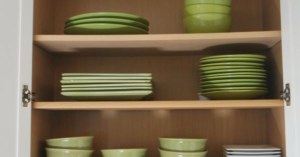Get extra storage in the kitchen cabinets with this easy for Extra storage for small kitchen