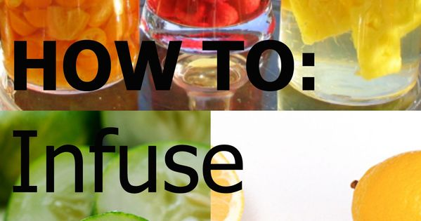 how to make your own flavored vodka