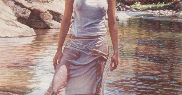 Nude watercolors of steve hanks - 1 5