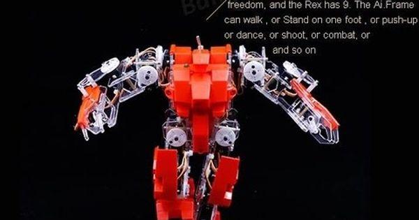 Robot Ai Frame Apollo Aif 44 0 Humanoid Diy Robot Kit Compatible With Ar Robot Kits Diy Robot Diy