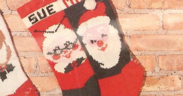 Knitted Christmas Stocking Kits