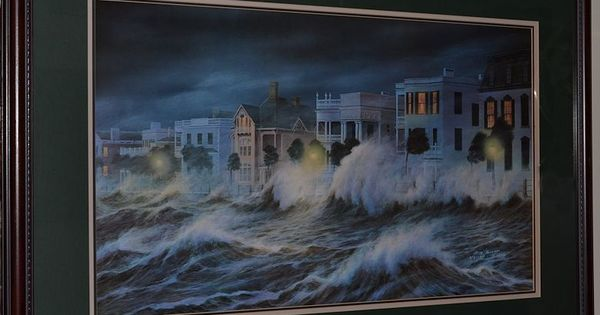 JIM BOOTH Hurricane Hugo Charleston SC 1990 27'x39