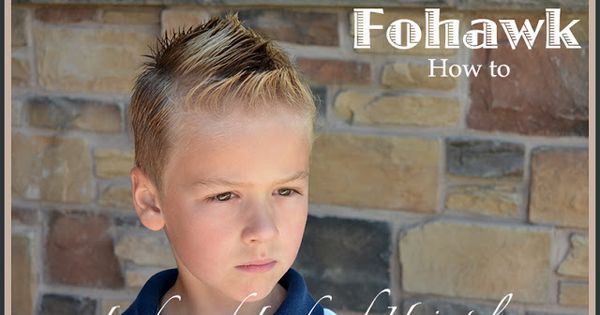 Boys Hairstyles Fohawk Hairstyle My Hairstyles
