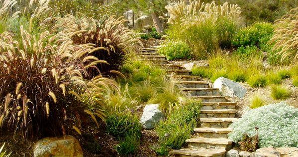 Jardin en pente - idées daménagement et conseils plantation  San ...