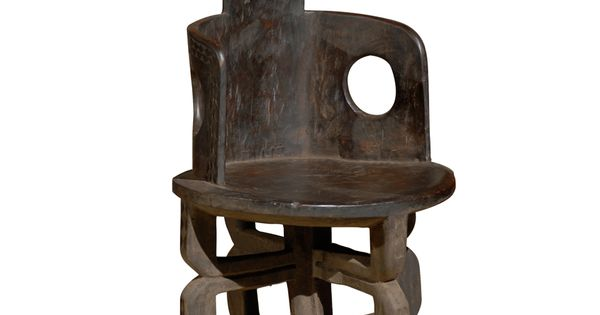 Mobilier africain fauteuil ethnie makonde tanzanie for Meuble africain