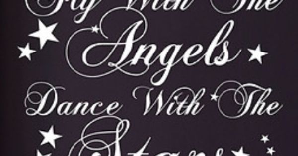 """""""Fly With The Angels, Dance With The Stars"""""""