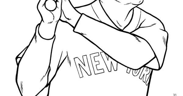 mlb coloring pages 027 - photo#3