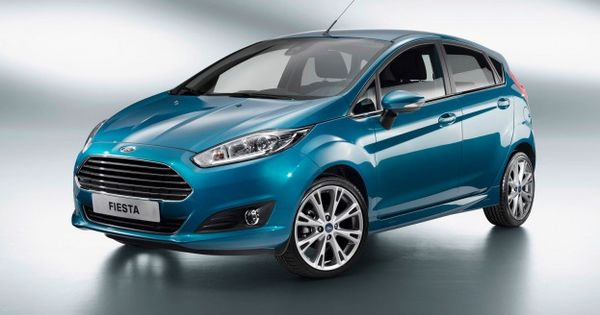 2014 Ford Fiesta Gets Aston Like Grille 1 0l Ecoboost But Not
