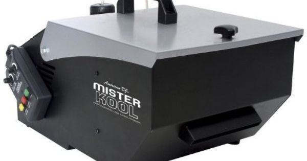 how to make a chiller for fog machine