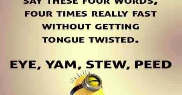 68 Best Funny Quotes Images On Pinterest: Lovable Minions