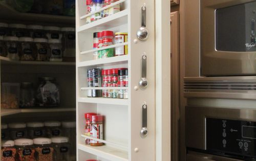 Love this organized pantry!
