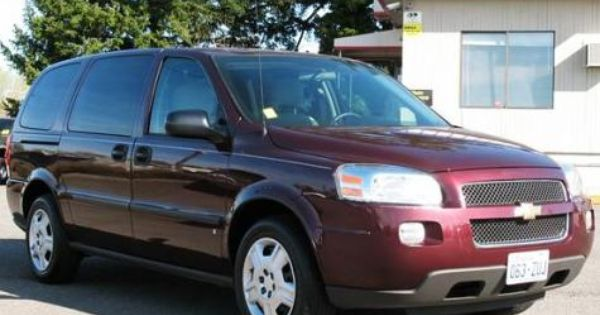 2008 Chevrolet Uplander Extended Sport Minivan 8995 Chevrolet