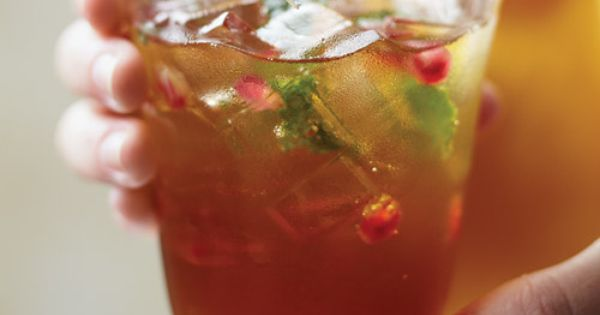 Pomegranates, Rum and Coolers on Pinterest