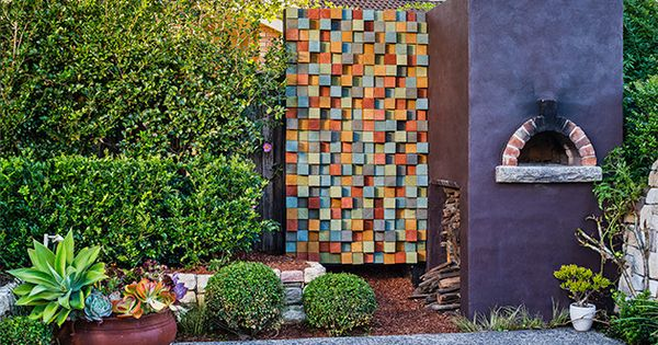 How to make timber art from offcuts Yahoo better homes and gardens