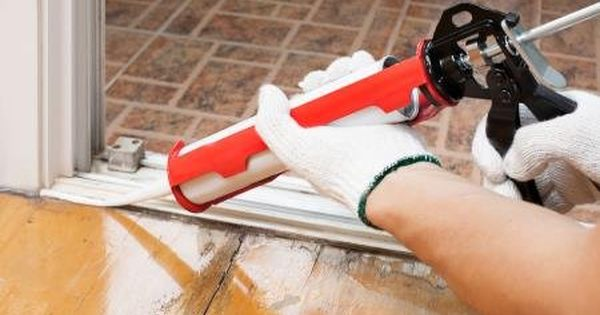 Keep Your Home Warm And Conserve Energy During The Winter Months By Sealing Up The Small Holes And Cracks Around The W Home Repair Diy Home Repair Home Repairs