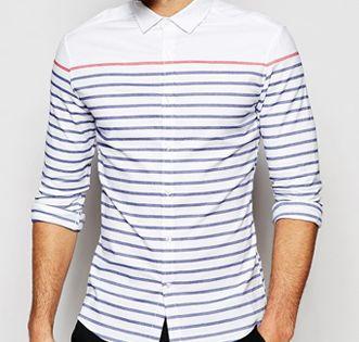 Wholesale Men Striped Shirts Manufacturer And Supplier 2018 In 2020 Striped Shirt Wholesale Shirts Long Sleeve Tshirt Men