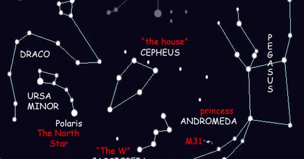 Cassiopeia is one of the most recognizable constellations ...