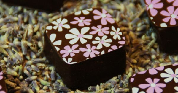 Enjoy the taste of lavender this summer. Choicolate's Lavender Truffle ...