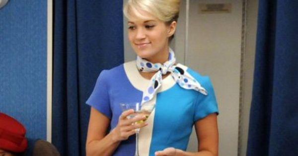 air hostess hair style carrie underwood on the set of quot how i met your quot as 4112 | e8ab9cb952ad9af5ac58e5b9a1b5834c