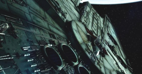 Geekery. Star Wars. Millenium Falcon